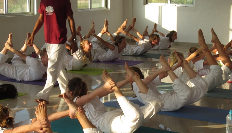 Hatha yoga docentopleiding India