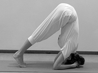 Hoe doe je kopstand Hatha Yoga