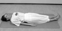 Schouderstand kaars hatha yoga