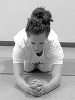 Hoe sirsasana doen Hatha Yoga