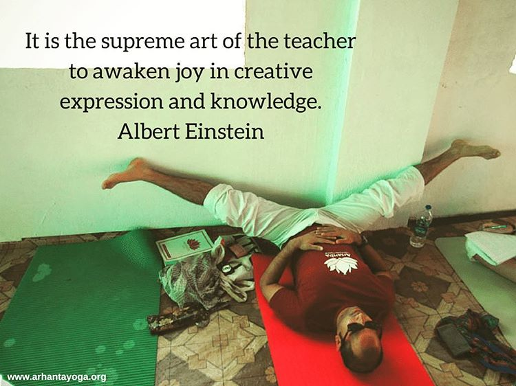 It is the supreme act of the teacher to awakenhellip