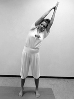 beginners yoga houdingen Driehoekshouding Trikonasana