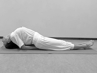 beginners yoga oefeningen Vis Matsayasana