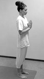 Yoga oefeningen voor beginners Zonnegroet Surya Namaskar