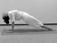 Hatha yoga voor beginners Opwaartse Plank Poorvottanasana