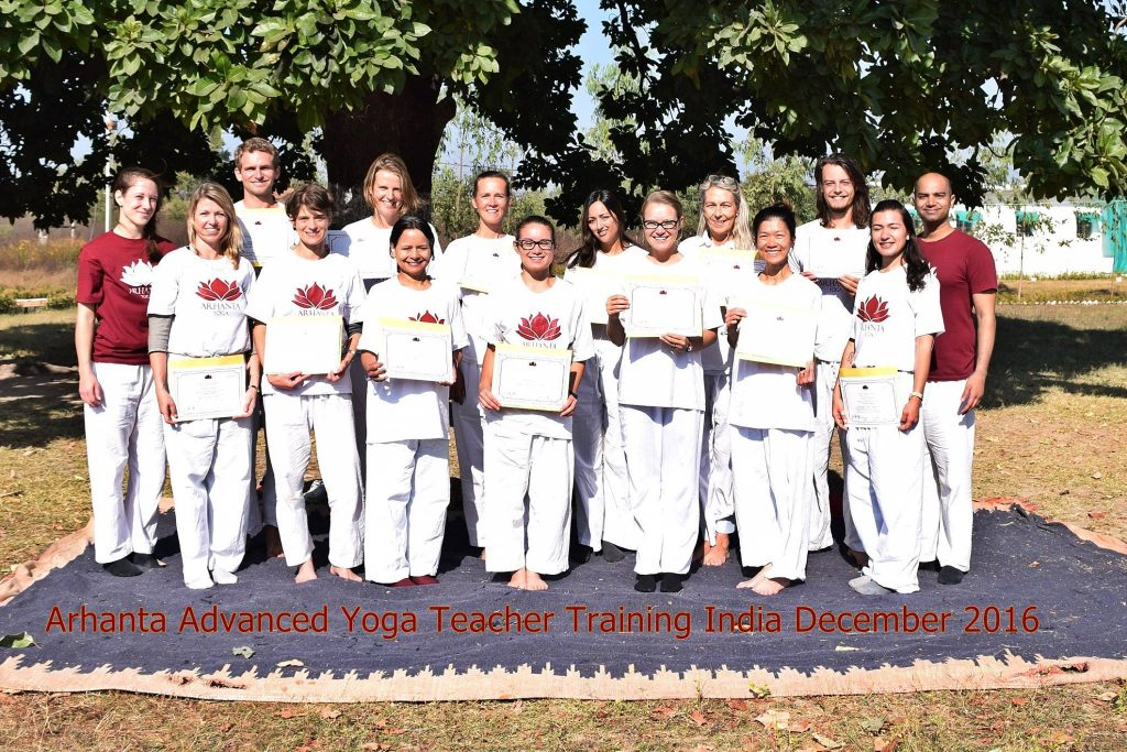 201612 advanced yoga teacher training India