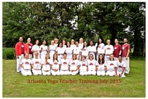 201507 yoga teacher training Nederland