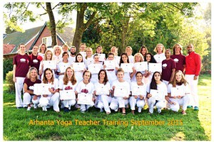 201509 Hatha Yoga opleiding Europa