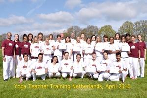 201604 yoga teacher certificaat Nederland