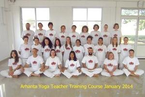 Yoga docenten opleiding January 2014