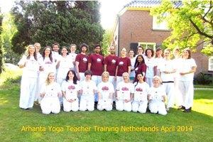 Yoga docenten opleiding mei 2014