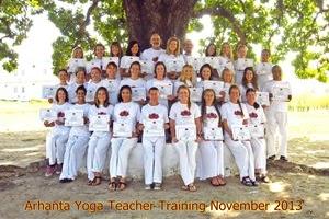 Yoga docenten opleiding november 2013
