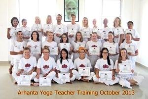 Yoga docenten opleiding oktober 2013