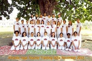 Yoga ttc november 2012