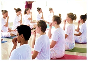 Level 2 advanced teacher training in Hatha Yoga and meditation