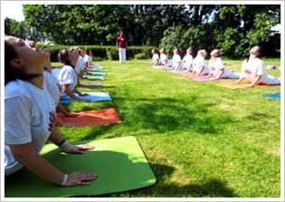 Opfriscursus yoga docenten opleiding