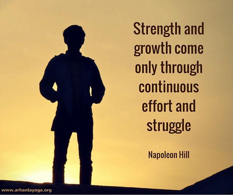 Keep growing every single day qotd growth yoga yogainspiration arhantahellip