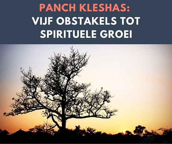 Panch 5 kleshas yoga filosofie