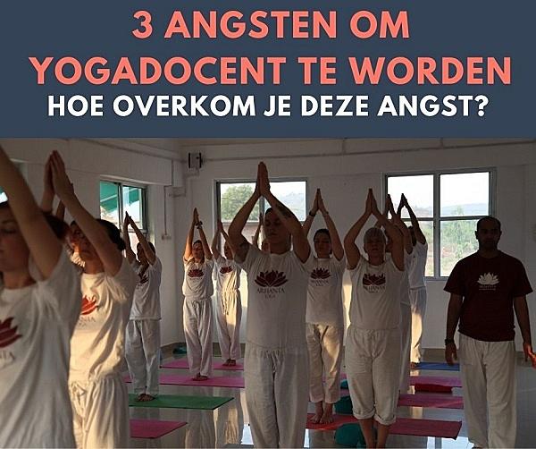 Angst om Yogadocent te worden