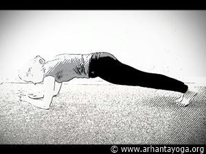 yoga voor buikspieren stafhouding
