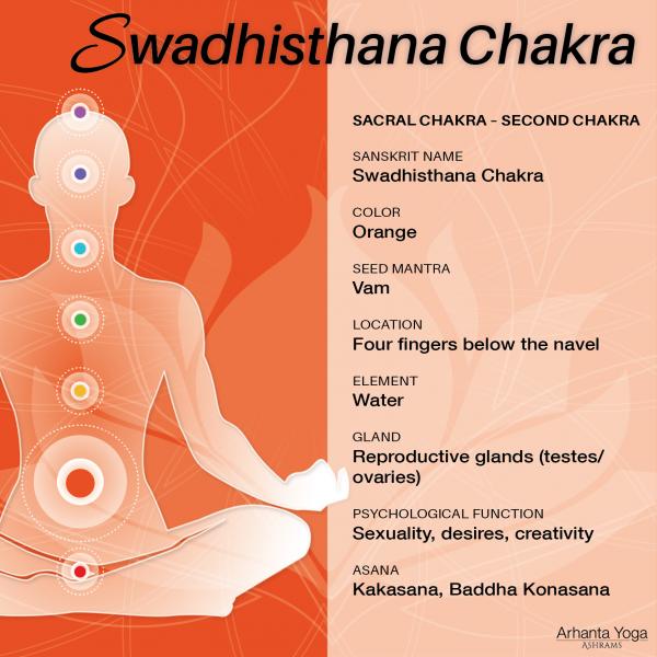 Swadhisthana Chakra Sacraalchakra