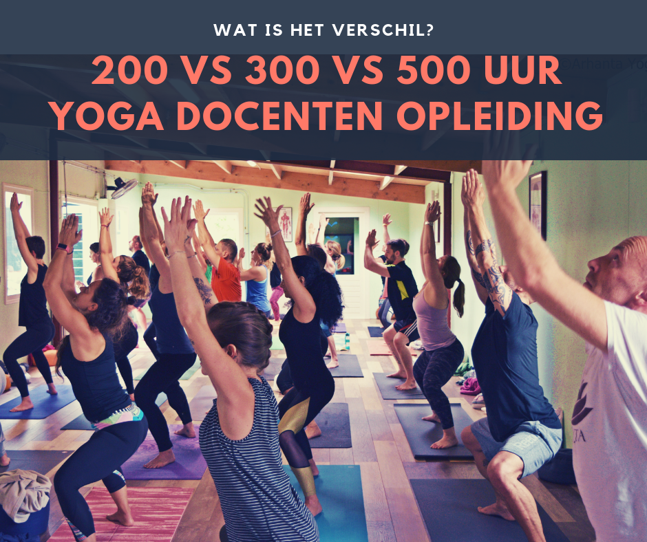 200 300 500 Yoga Leraren Opleiding