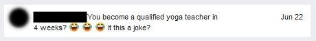 Yoga docenten opleiding 4 weken