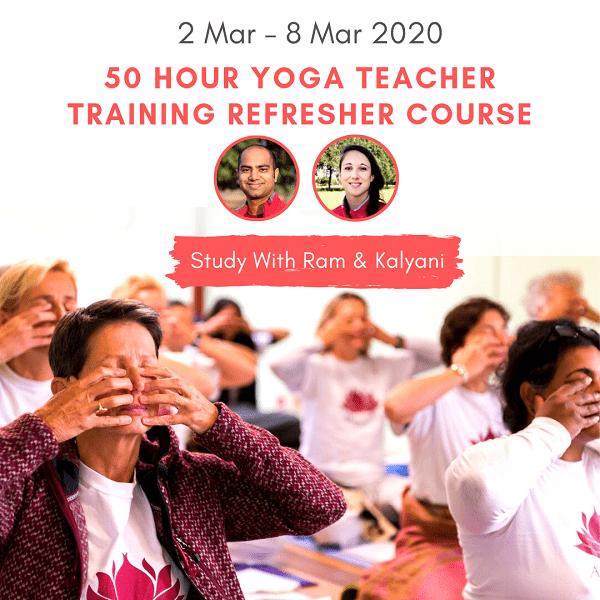 Yoga docenten opfriscursus