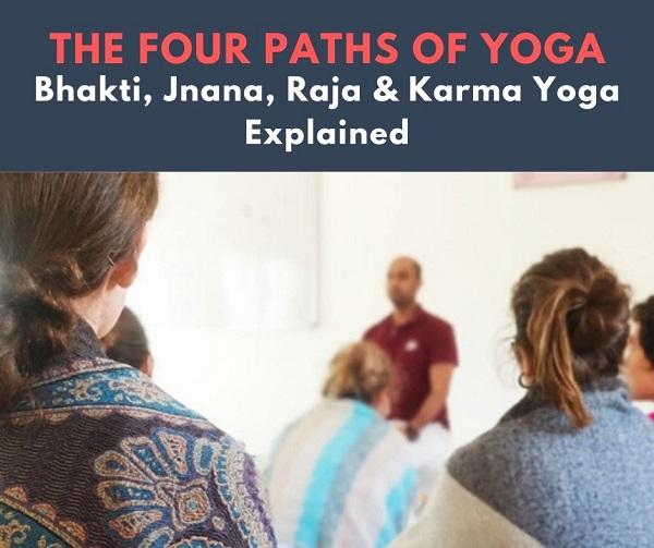de vier paden van yoga