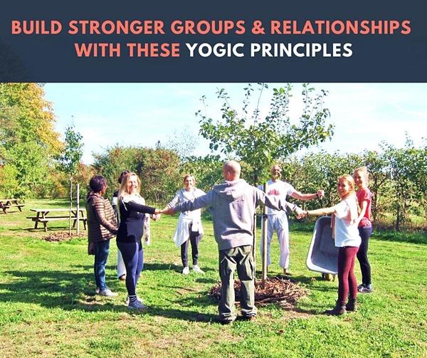 Yogische manieren om sterkere groepen en relaties op te bouwen