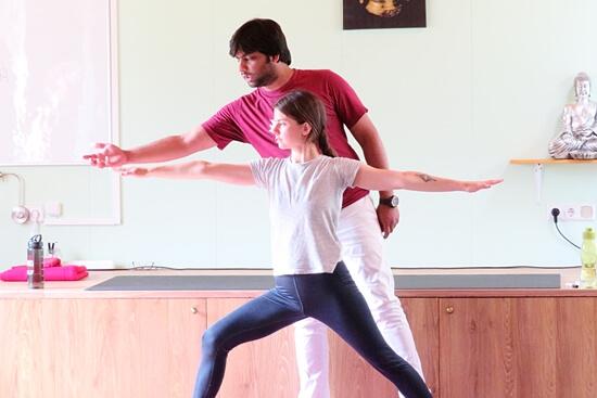 hoe yoga les geven